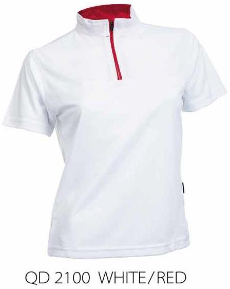 Qd21 Female Chinese Collar Shirt Lifestyle Fashion